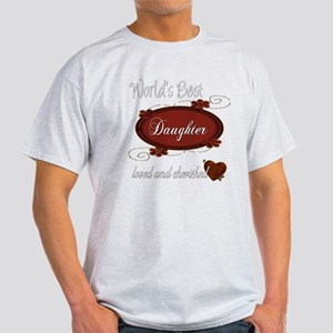 Cherished Daughter Light T-Shirt