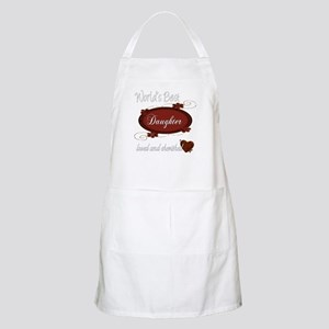 Cherished Daughter BBQ Apron