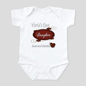 Cherished Daughter Infant Bodysuit