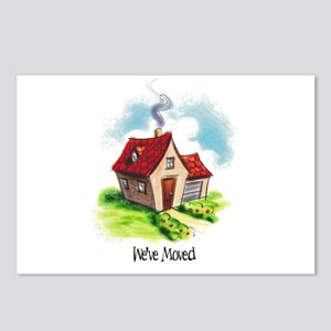 New Address Postcards (Package of 8)