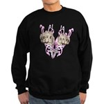 Love and Hate Fists Sweatshirt (dark)
