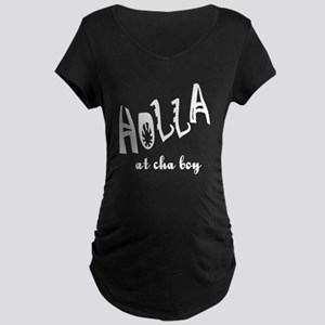 Holla Maternity Dark T-Shirt