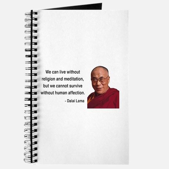 Dalai Lama 21 Journal