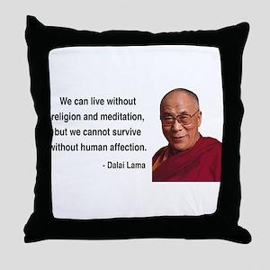Dalai Lama 21 Throw Pillow