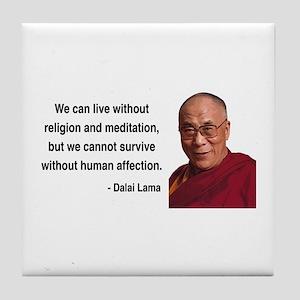 Dalai Lama 21 Tile Coaster