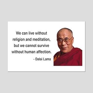 Dalai Lama 21 Mini Poster Print