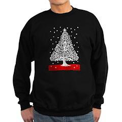 Skulls for Christmas Sweatshirt (dark)