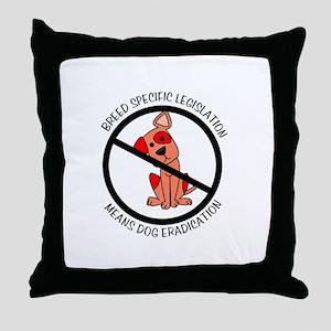 Anti-BSL Throw Pillow