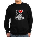 I love Las Vegas Sweatshirt (dark)
