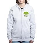 Think Green Women's Zip Hoodie