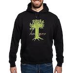 Tree Hugger Shirt Hoodie (dark)