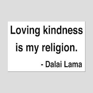 Dalai Lama 22 Mini Poster Print