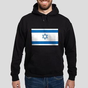Israeli Flag Hoodie (dark)
