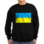 Ukranian Flag Sweatshirt (dark)