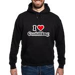 I love cuddling Hoodie (dark)