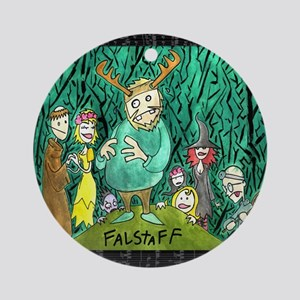 Falstaff Ornament (Round)