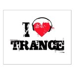 I love trance Small Poster