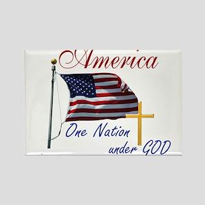 America One Nation Under God Magnets
