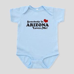 Somebody in Arizona Loves me Infant Bodysuit