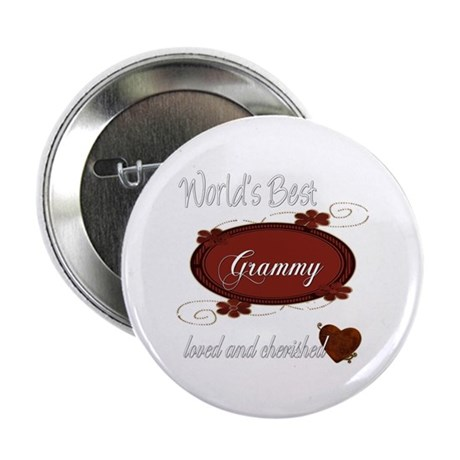 "Cherished Grammy 2.25"" Button (10 pack)"