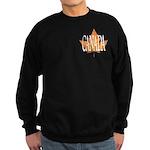 Canada Sweatshirt (dark) Canadian Maple Leaf Shirt