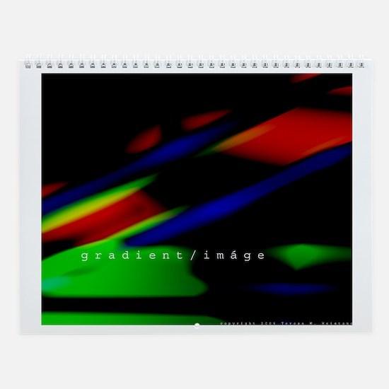 gradient/imáge  Wall Calendar