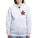 Cool Canada Women's Zip Hoodie Souvenir