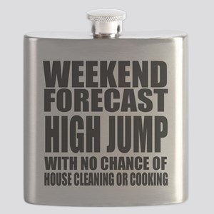 Weekend Forecast High Jump Sports Designs Flask