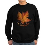 Canada Sweatshirt (dark) Canadian Maple Leaf Shirt