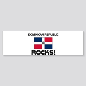 Dominican Republic Rocks! Bumper Sticker