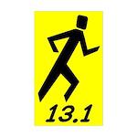 Shadow Runner 13.1 Rectangle Sticker
