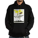 The Fly is as Deadly Hoodie (dark)