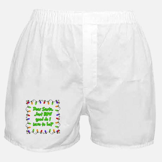 Letter to Santa Boxer Shorts