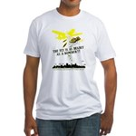 The Fly is as Deadly Fitted T-Shirt