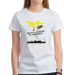 The Fly is as Deadly Women's T-Shirt
