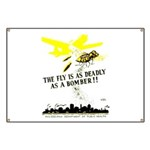 The Fly is as Deadly Banner