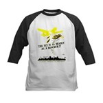 The Fly is as Deadly Kids Baseball Jersey