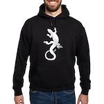 Cool Lizard Hoodie (dark) Reptile Hoodies & Gi