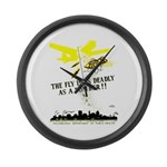 The Fly is as Deadly Large Wall Clock