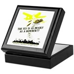 The Fly is as Deadly Keepsake Box