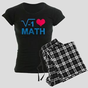 I Love Math T Shirt Pajamas