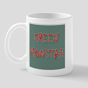 Green Monstah Mug
