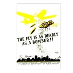 The Fly is as Deadly Postcards (Package of 8)