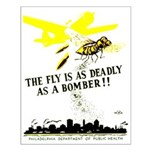 The Fly is as Deadly Small Poster