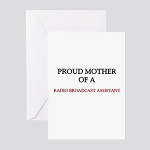 Proud Mother Of A RADIO BROADCAST ASSISTANT Greeti