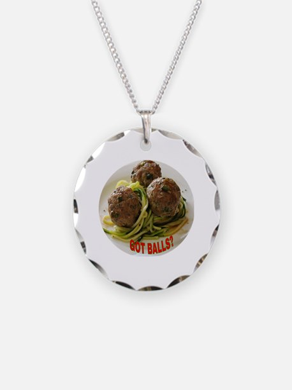 Unique Italian food quote Necklace