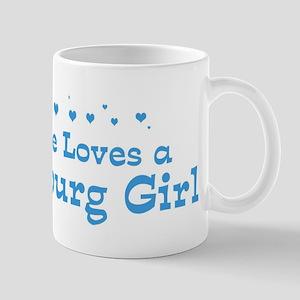 Loves Harrisburg Girl Mug