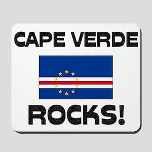 Cape Verde Rocks! Mousepad