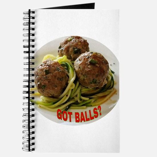 GOT BALLS? Journal