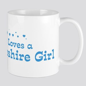 Loves New Hampshire Girl Mug